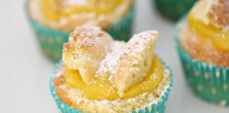 Cupcake crème citron avec thermomix