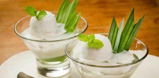 Gelée de lait de coco avec thermomix
