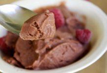 Glace yaourt chocolat avec thermomix