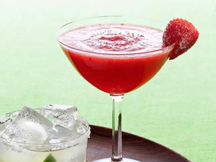 Margarita fraises avec thermomix