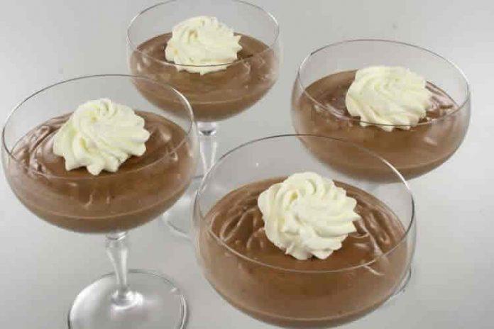 Mousse au chocolat Nestle avec thermomix