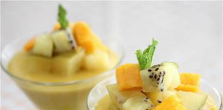Panna Cotta Mangue avec thermomix