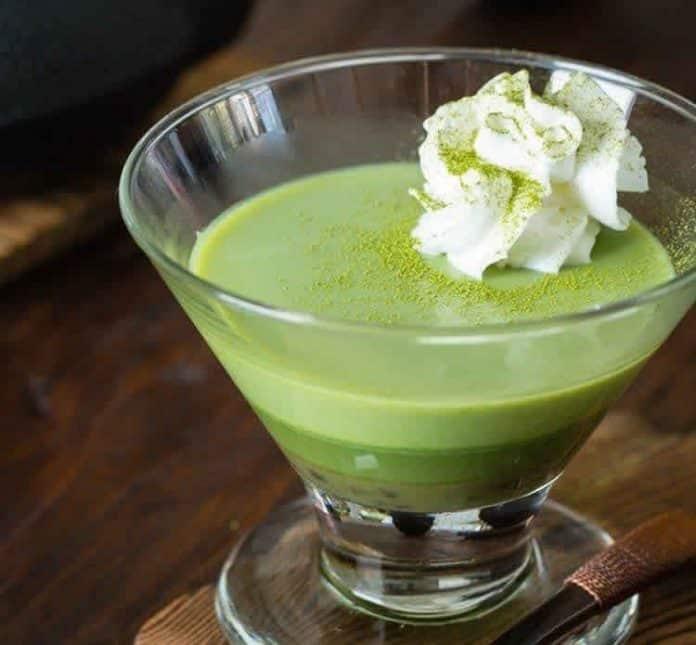 Pudding au Thé Vert avec thermomix