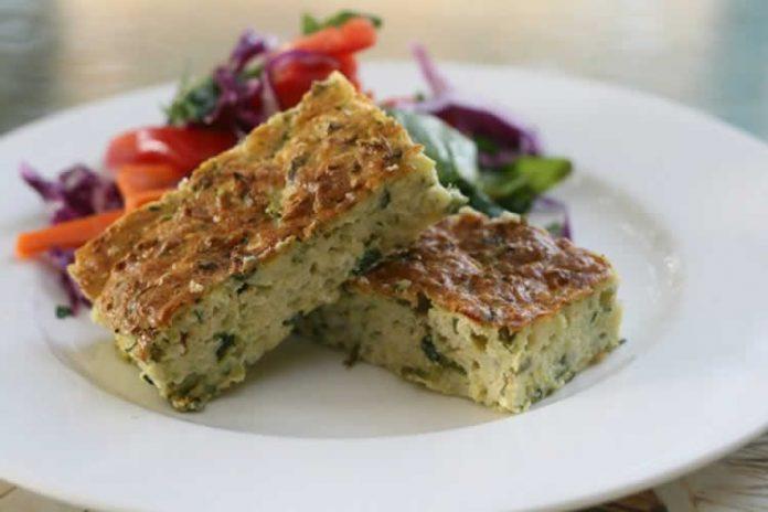Recette pain courgette avec herbes avec thermomix