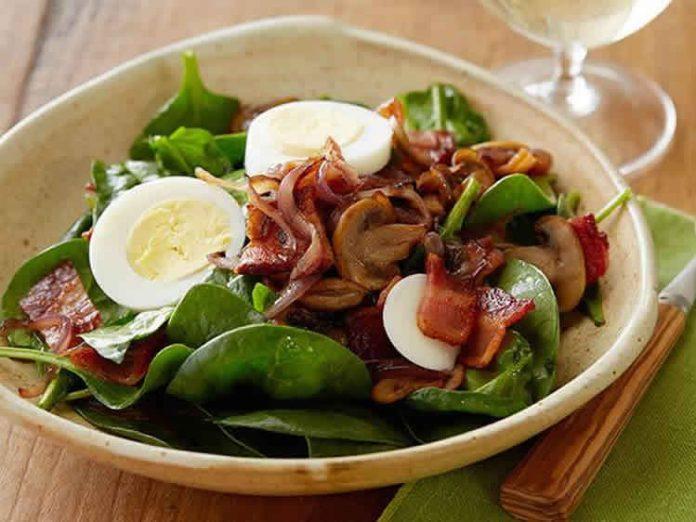 Salade champignons w-w avec thermomix