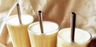 Smoothie proteine aux noix et banane avec thermomix
