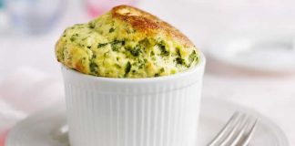 Souffle courgettes au thermomix