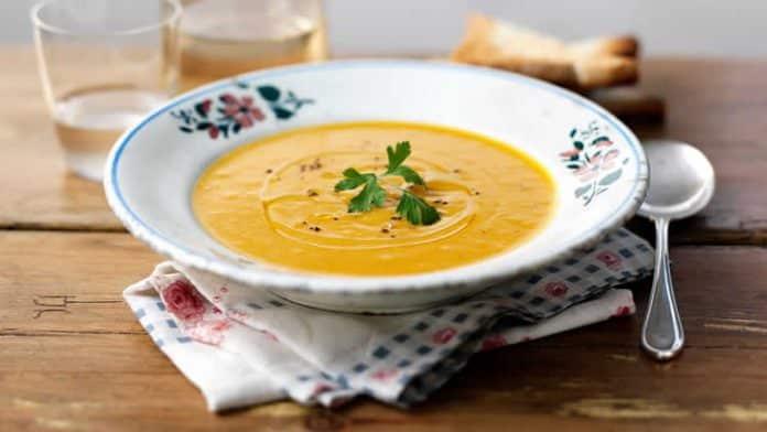 Soupe aux légumes avec thermomix