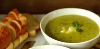 Soupe courgette et menthe au cookeo