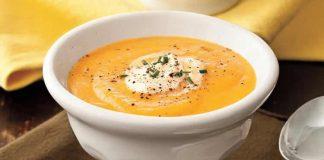 Soupe froide de carottes et citron avec thermomix