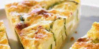 Tarte courgette et fromage chèvre avec thermomix