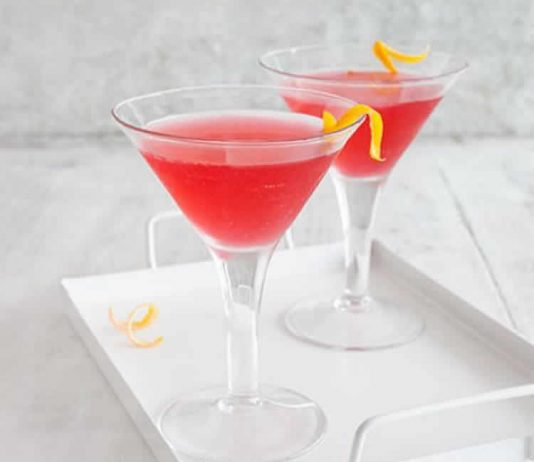 cocktail cosmopolitain avec thermomix