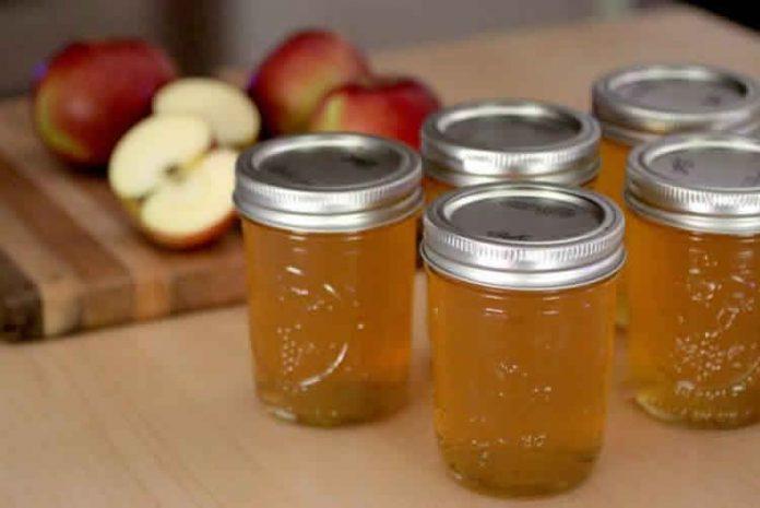 confiture de pommes au cookeo