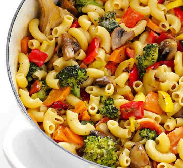 coquillettes aux légumes au cookeo