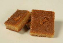 gâteau de semoule libanais - namoura