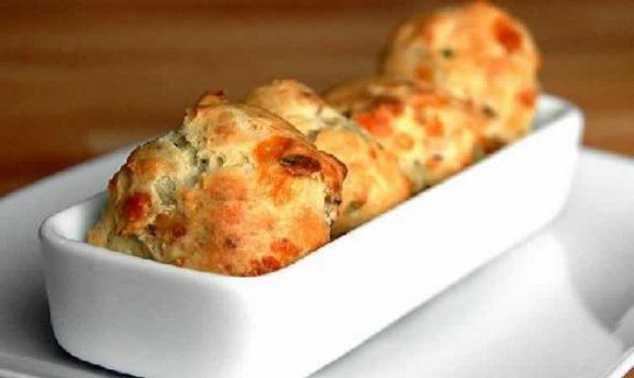 Gougères au fromage et jambon avec thermomix