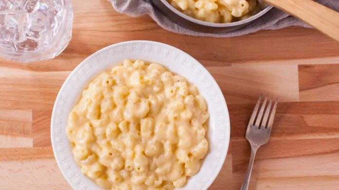 macaroni au fromage avec thermomix