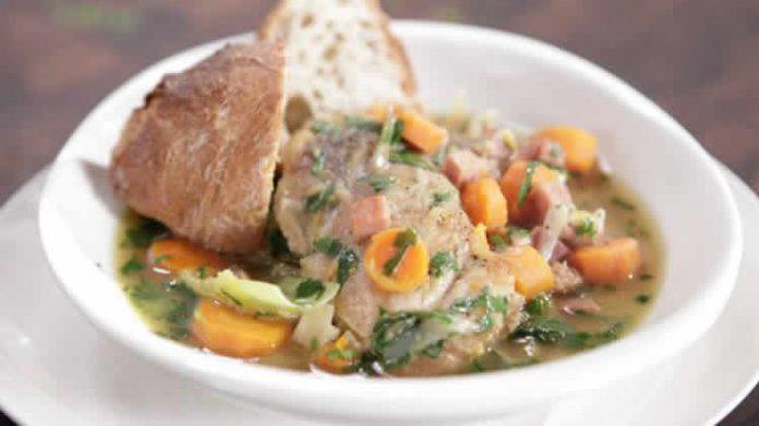 poulet aux carottes et poireau au cookeo
