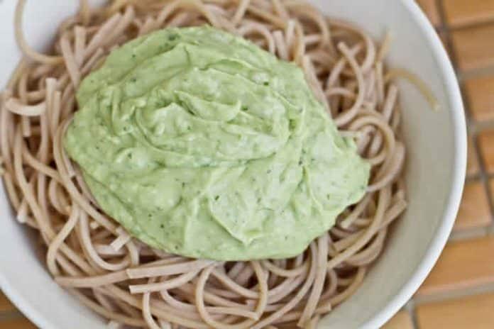 sauce courgette pour spaghetti avec thermomix