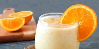smoothie melon orange yaourt avec thermomix