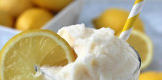 sorbet de limonade avec thermomix