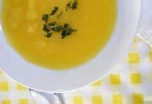 soupe courge spaghetti au cookeo