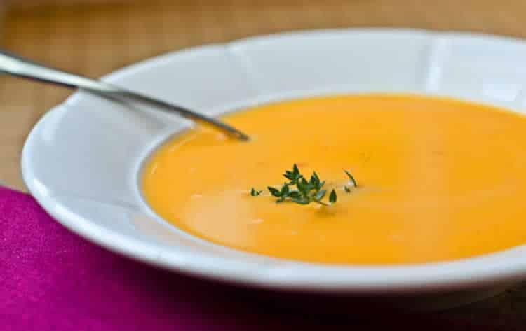 Soupe super legere avec thermomix recette thermomix facile - Cuisine legere thermomix ...