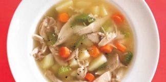 Chorba poulet et legumes au cookeo