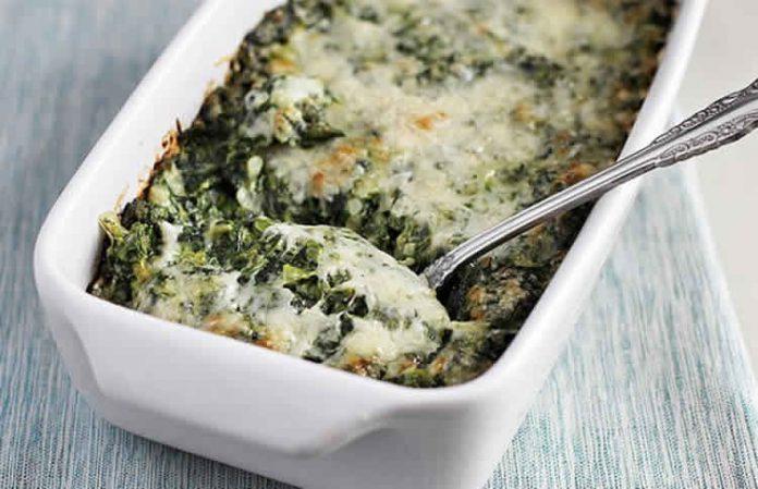 Clafoutis epinards et fromage au thermomix