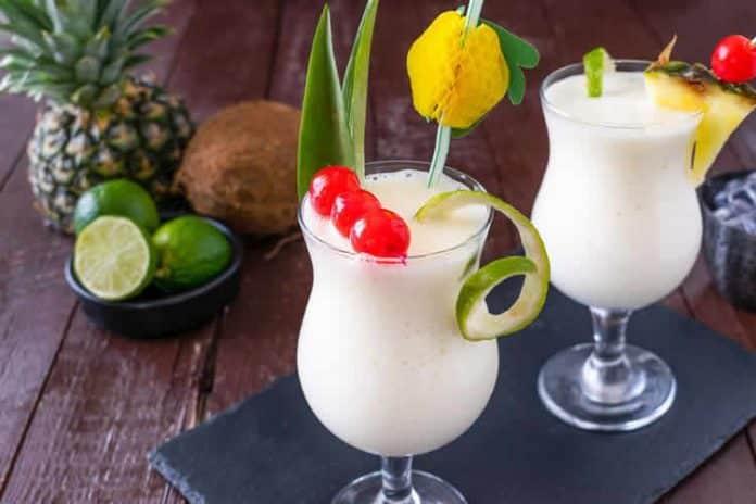 Cocktail Pina Colada avec thermomix