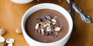 Creme dessert chocolat au lait au thermomix