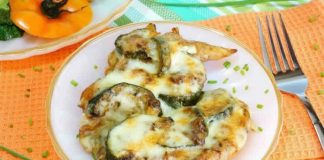 Cuisses de poulet courgettes et fromage au cookeo