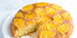 Gâteau ananas et caramel avec thermomix