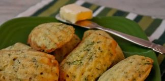 Madeleines courgettes au thermomix