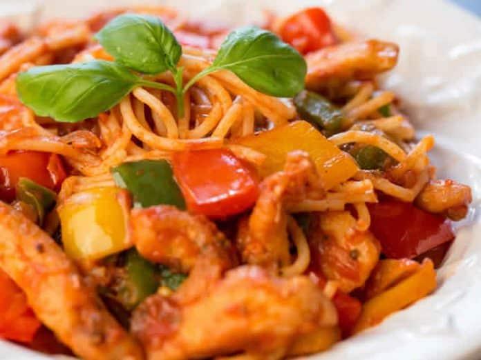 Marmite espagnole avec spaghetti au cookeo