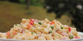 Pates petits pois jambon maïs au cookeo