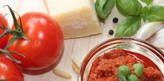 Pesto rosso - Pesto rouge avec thermomix