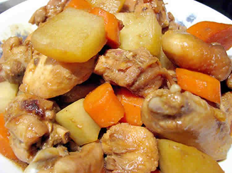 poulet aux pommes de terre et carottes au cookeo recette cookeo. Black Bedroom Furniture Sets. Home Design Ideas