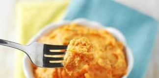 Purée de pommes de terre et carottes avec thermomix