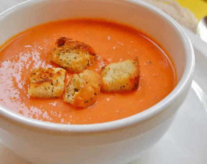 recette veloute de tomates italienne au thermomix