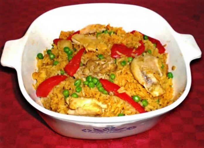 Riz au poulet cubain au cookeo