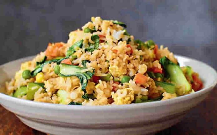 Riz aux 4 legumes au cookeo