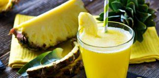 Smoothie Detox ananas orange avec thermomix