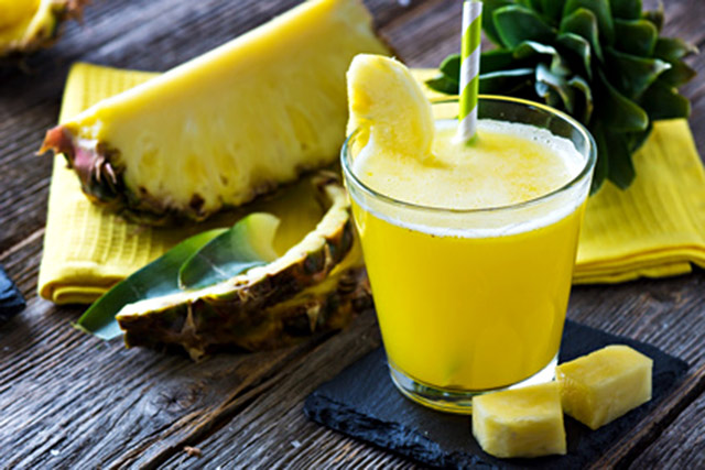 Smoothie Detox ananas orange avec thermomix
