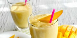 Smoothie energie Mangue et Banane au thermomix