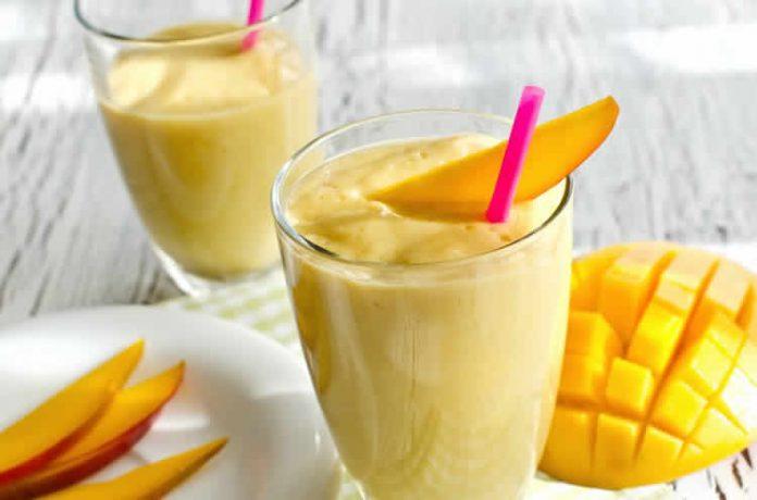Smoothie energie Mangue et Banane au thermomix