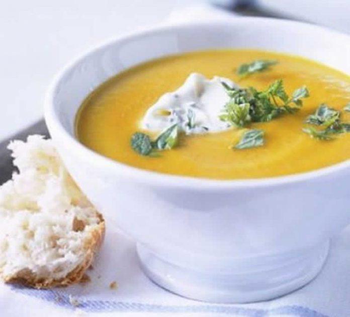 Soupe 3 légumes au thermomix
