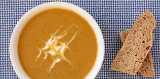 Soupe patate et lentilles avec thermomix