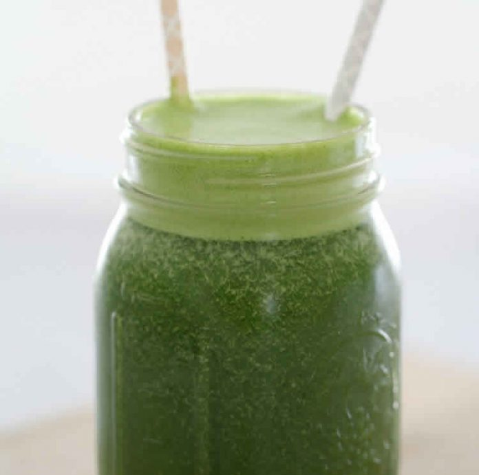 Super smoothie vert avec thermomix