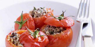 Tomates farcies chair saucisse au cookeo